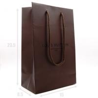 LOUIS VUITTON, подарочный пакет (коричневый маленький 15*23.5*8.5)