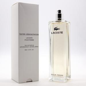 LACOSTE POUR FEMME, тестер парфюмерной воды для женщин 90 мл