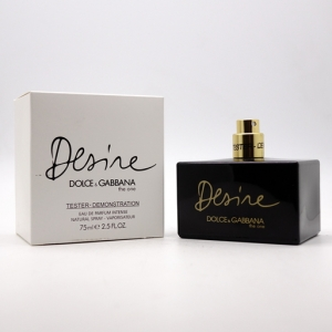 DOLCE & GABBANA THE ONE DESIRE, тестер парфюмерной воды для женщин 75 мл