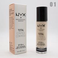 NYX TOTAL CONTROL - №01, тональный крем 30 мл