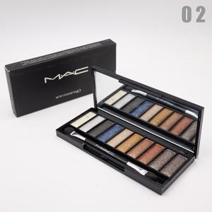 M.A.C PIANO - №02, тени для век 10 цветов