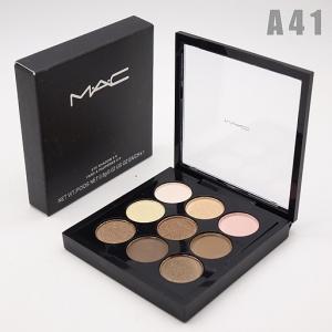 M.A.C - A41, тени компактные для век 9 цветов
