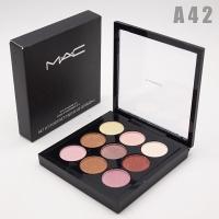 M.A.C - A42, тени компактные для век 9 цветов