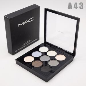 M.A.C - A43, тени компактные для век 9 цветов