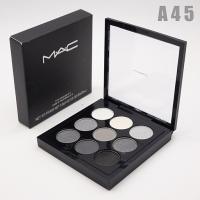 M.A.C - A45, тени компактные для век 9 цветов