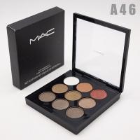 M.A.C - A46, тени компактные для век 9 цветов