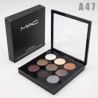 M.A.C - A47, тени компактные для век 9 цветов