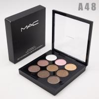 M.A.C - A48, тени компактные для век 9 цветов