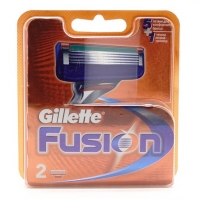 GILLETTE FUSION, 2 сменные кассеты для бритья