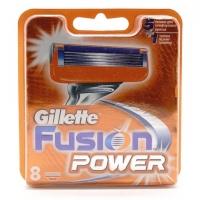 GILLETTE FUSION POWER, 8 сменных кассет для бритья