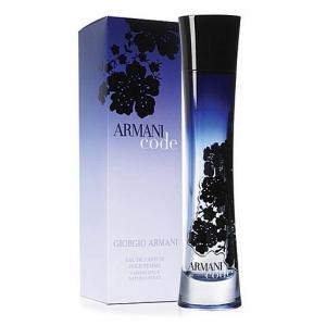 GIORGIO ARMANI CODE, парфюмерная вода для женщин 75 мл