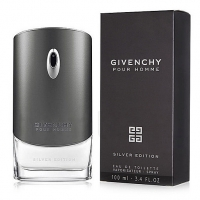 GIVENCHY POUR HOMME SILVER EDITION, туалетная вода для мужчин 100 мл
