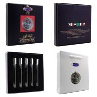 SHAIK OPULENT SHAIK BLUE No 77 5*7.5 мл, парфюмерный набор для мужчин 5 в 1