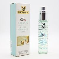 LACOSTE L.12.12 POUR ELLE NATURAL, женская парфюмерная вода с феромонами 45 мл