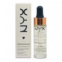 NYX ROSE GOLD ELIXIR, масляная основа под макияж 15 мл