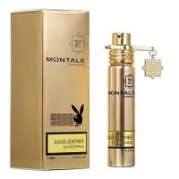 MONTALE AOUD LEATHER, компактная парфюмерная вода унисекс 20 мл