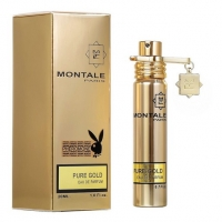 MONTALE PURE GOLD, женская компактная парфюмерная вода 20 мл