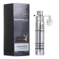 MONTALE WOOD & SPICES, мужская компактная парфюмерная вода 20 мл
