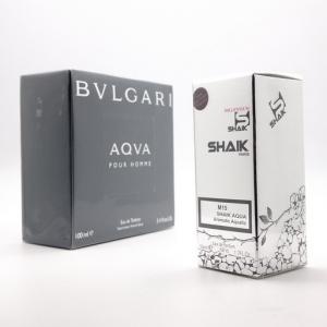 SHAIK M 15 AQVA, парфюмерная вода для мужчин 50 мл