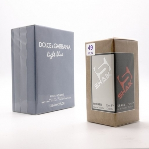 SHAIK M 49 LIGT BLUE, парфюмерная вода для мужчин 50 мл