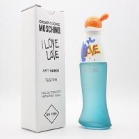 MOSCHINO CHEAP AND CHIC I LOVE LOVE, тестер туалетной воды для женщин 100 мл