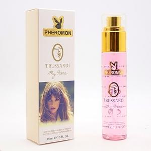 TRUSSARDI MY NAME, женская парфюмерная вода с феромонами 45 мл